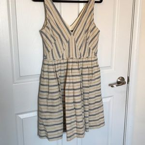 J. Crew Sleeveless Linen Dress